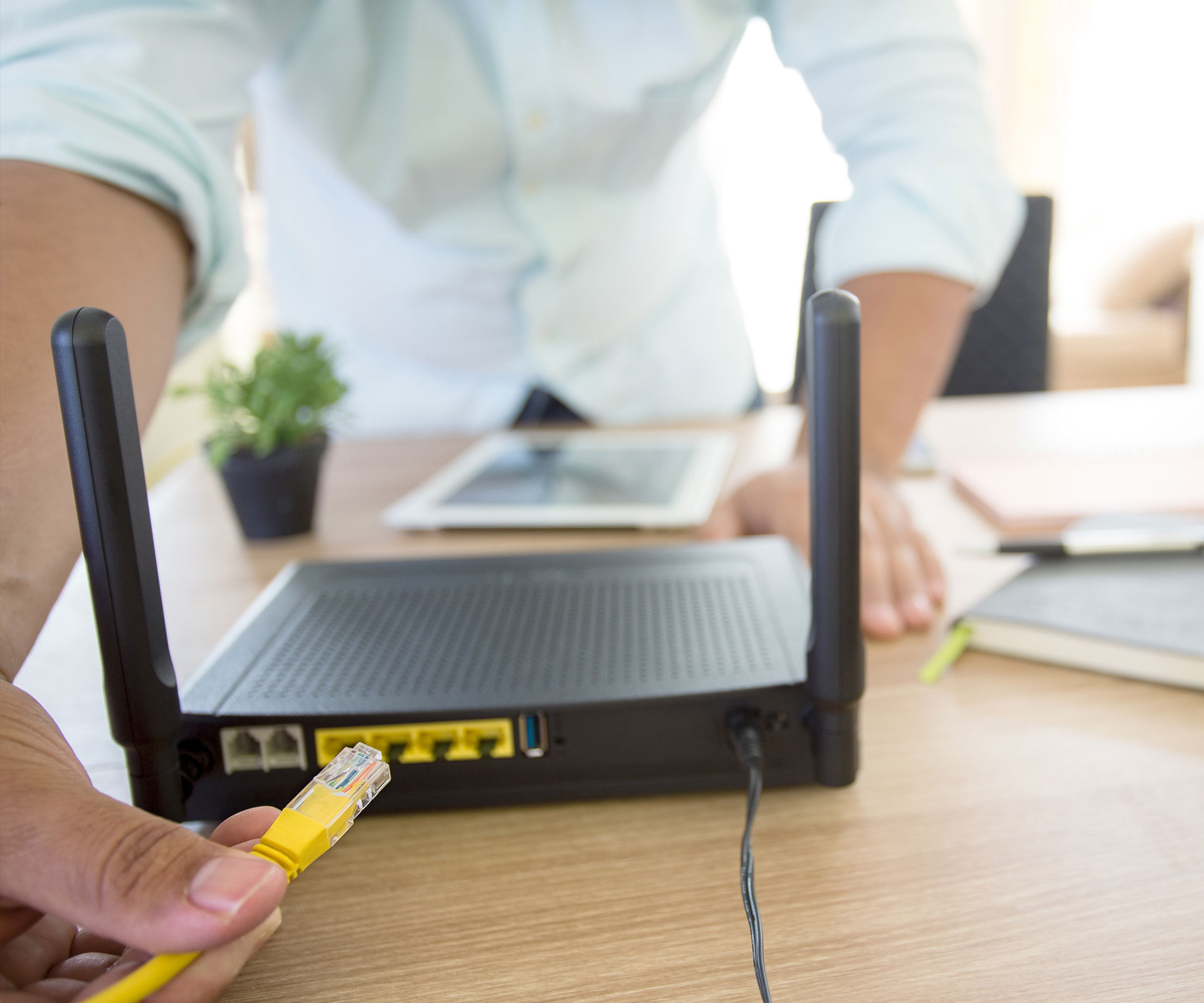 What are the most common questions that crop up when installing a router?